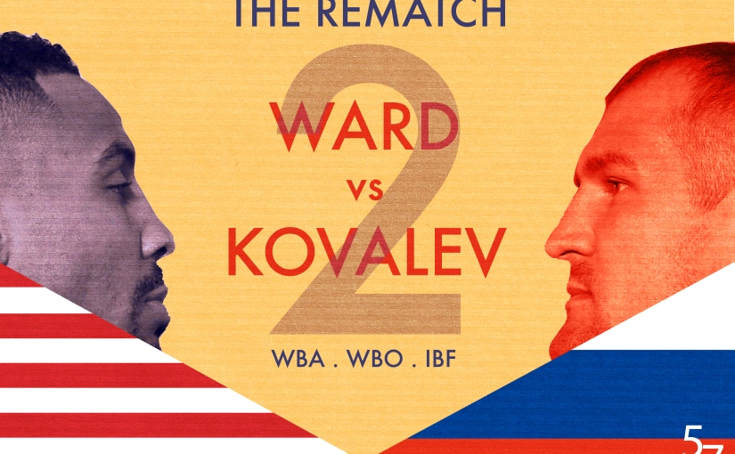 Ward Kovalev take 2! Confirmation or revenge?