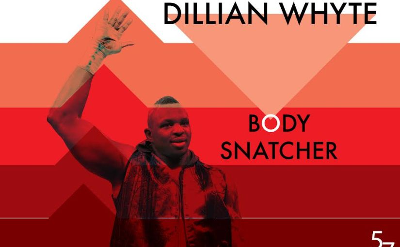 Dillian Whyte looking to snatch the heavyweight division